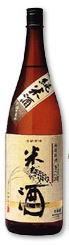純米酒 米だけの酒 1800ml